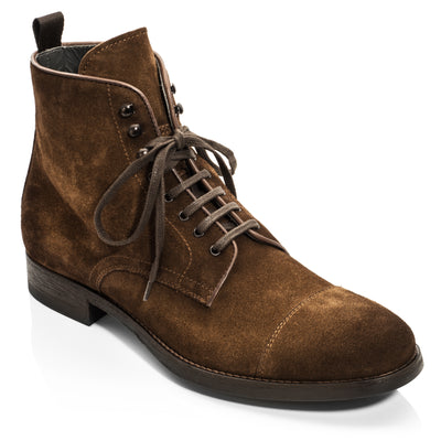 Richmond Mid Brown Suede