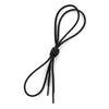Black Shoe Lace Round
