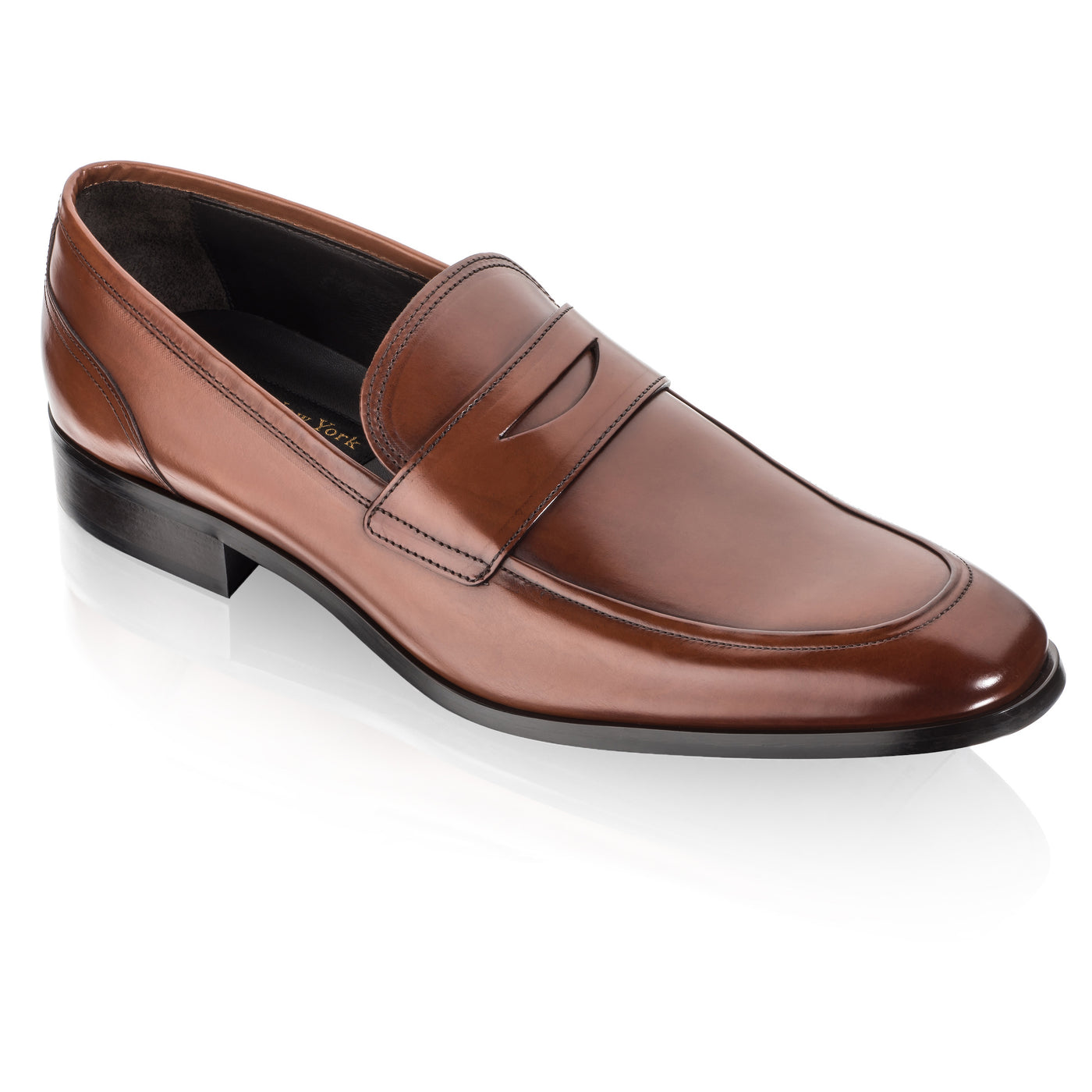 To Boot New York D Island Shoes Slip On Mocasine Casual Brown Deane Cognac