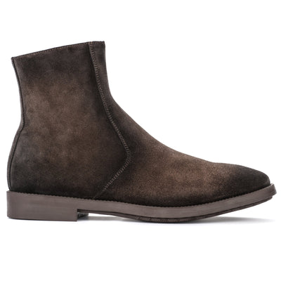 Rosemont Dark Brown Suede