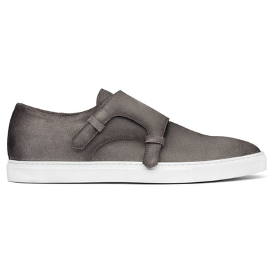 Battery Grey Suede