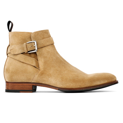 Clarence Sand Suede