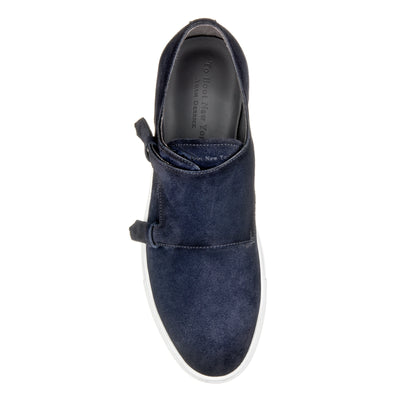 Battery Navy Blue Suede