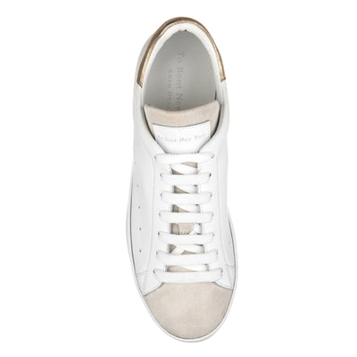 Cara White/Suede/Trim