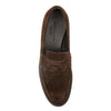 Berle Dark Brown Suede