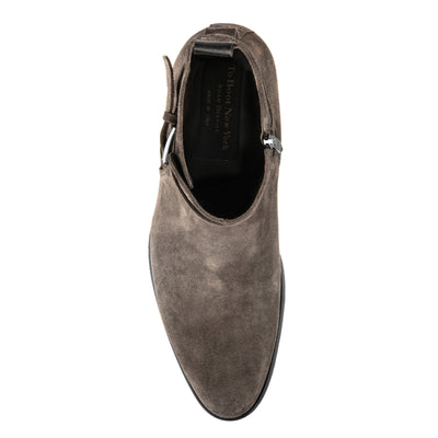 Clarence Grey Suede