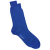 Electric Blue/Mint Pindot Sock