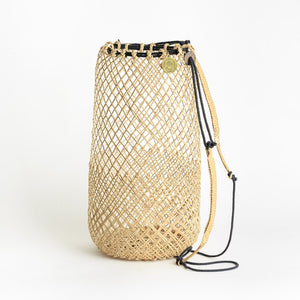Anjat Rattan Basket Backpack