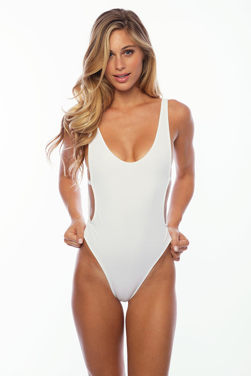 St Barths One Piece Suit - White