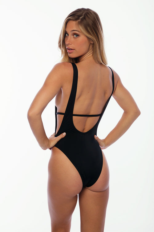 St Barths One Piece Suit - Black