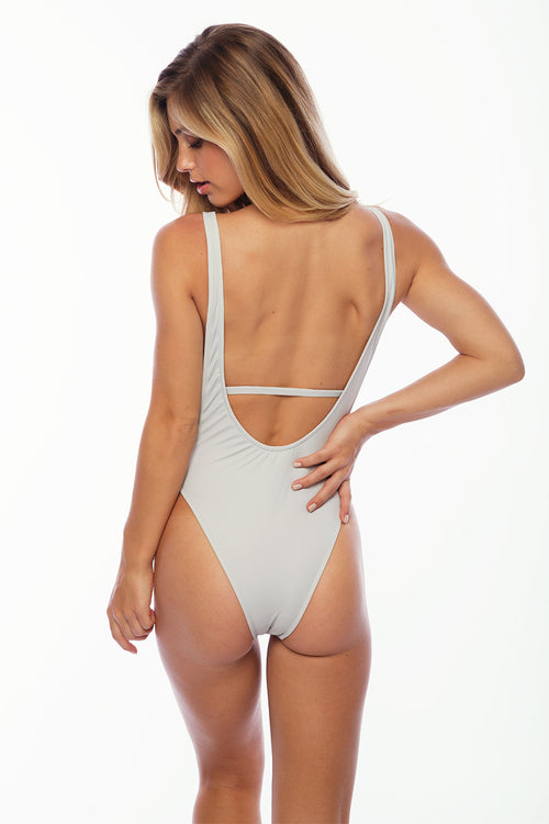 St Barths One Piece - Grey