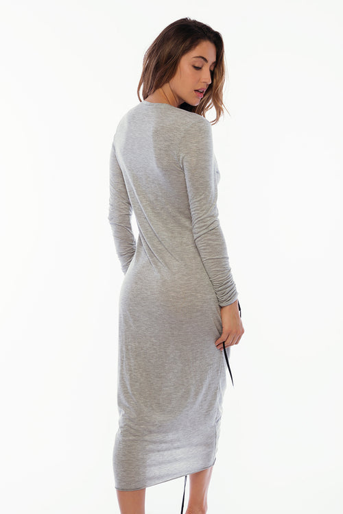 Savanah Dress - Solid Grey