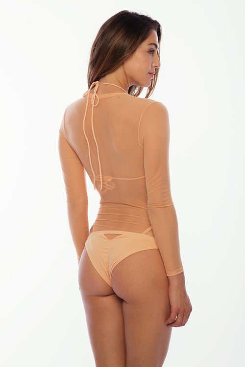Crash Boat Mesh Bodysuit - Coral Reef