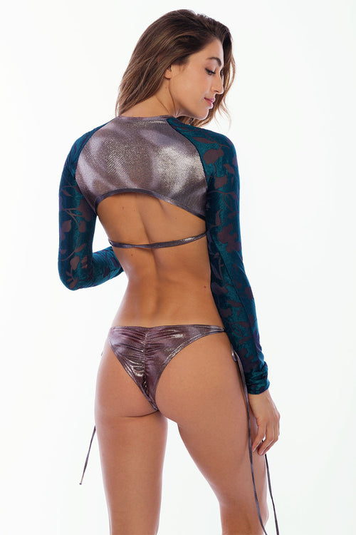 Marias Bottoms - Platinum Purple