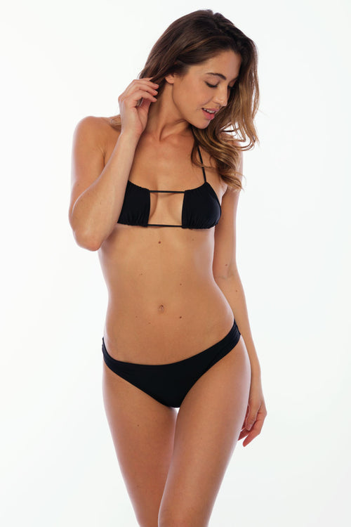 Tres Palmas Top - Black