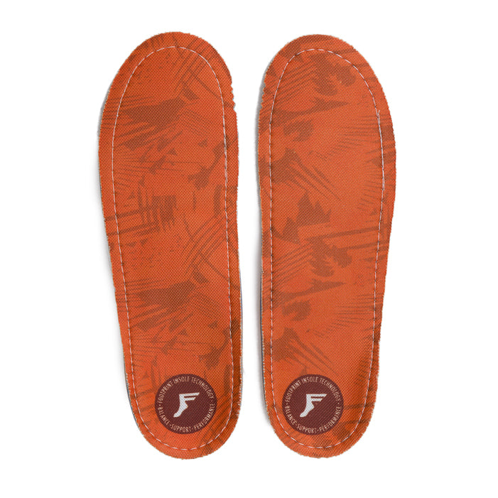 Footprint Kingfoam Orthotic Orange Camo