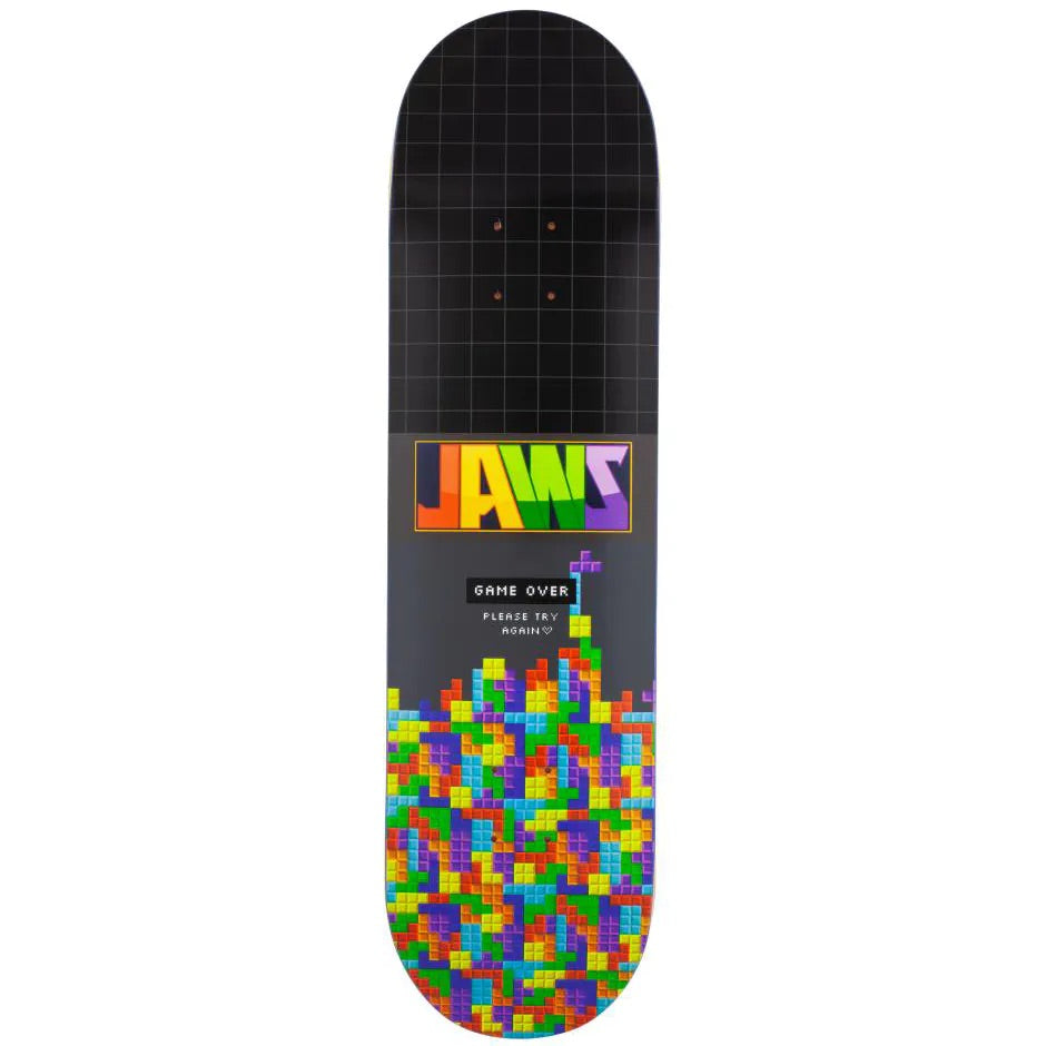 Birdhouse - Pro Deck Jaws Blocks Black 8.25""
