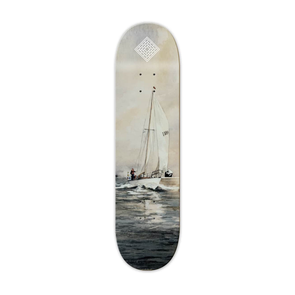 The National Skateboard Co. Resail Skateboard Deck - (Medium Concave) 8.25""
