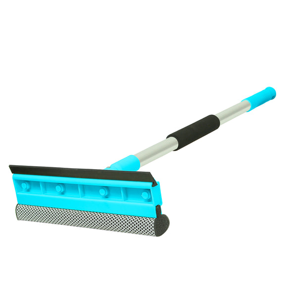 Guay Window Glass Telescopic Squeegee Wiper and Scrubber