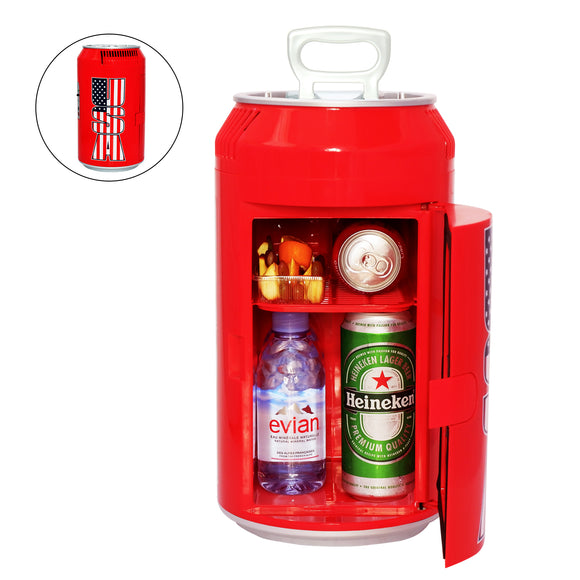 Guay Outdoor Portable Mini Fridge US Can Beverage Cooler - Guay