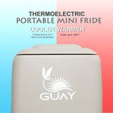 Guay Portable Thermoelectric Mini Fridge Cooler and Warmer - Gray - Guay