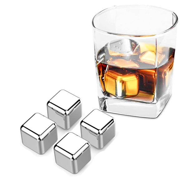 Guay Bebida Stainless Steel Chilling Ice Cubes with Pouch - Guay