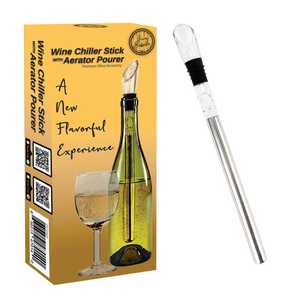 Guay Wine Chiller Stick and Aerating Pourer - Guay