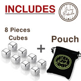 Guay Stainless Steel Chilling Ice Cubes with Pouch - Guay