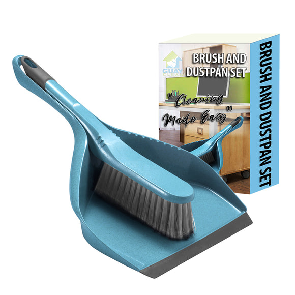 Guay Brush and Dustpan Set for Home, Kitchen, Office Floor Cleaning - Guay