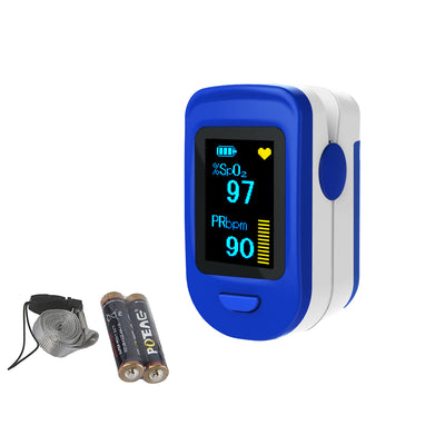 LOOKEE® Fingertip Pulse Oximeter with Plethysmograph