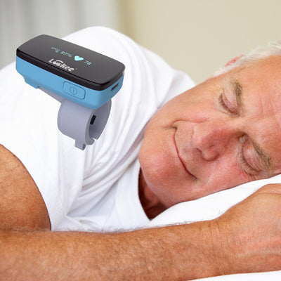 LOOKEE® Ring-Pro Sleep Oxygen Monitor with PC & Mobile Apps