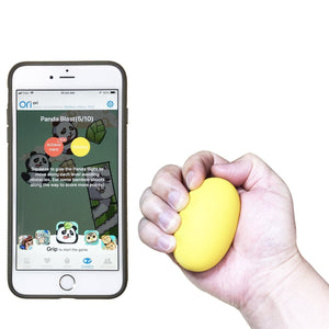 Lookee® Smart Ball - Hand Exerciser Grip Strengthener & Trainer with App & Games to Compete online