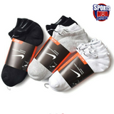 Nike Cotton No Show Socks Pack of 3 Pairs
