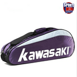 Kawasaki Badminton Shoulder Bag - Fits 6 Racquets Seperate Shoe Compartment