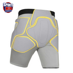 Adult (Unisex) Ski/Snowboard Protective Anti-Fall Shock Prevention and Resistant Undergarment