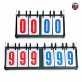 4 and 6 Digit Portable Flip Foldable Scoreboard