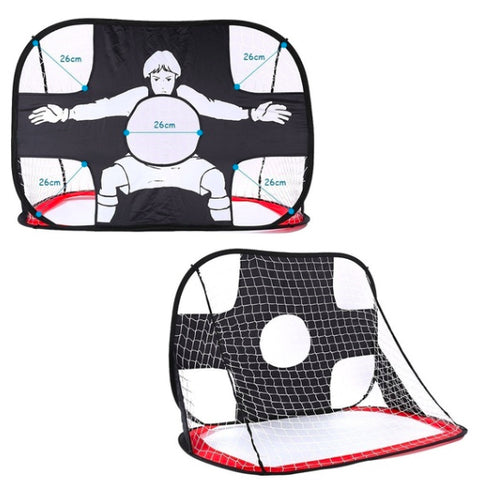 Folding Portable Football Practice Training Target Net For Children Or Kids Soccer Goals for Kids Indoor/Outdoor
