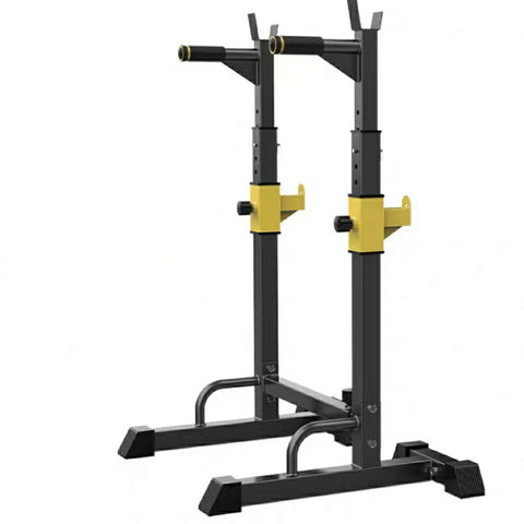 Adjustable Squat Rack Dipping Bar Weight Rack Gym Equipment  500kg