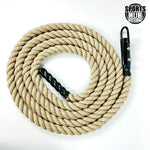 Climbing Rope 6m with Ceiling Hook Attachment for CrossFit Obstacle Course Training Exercise