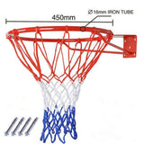 45cm Tournament Size Standard Steel Basketball Rim Hoop Incl. Drilling Service