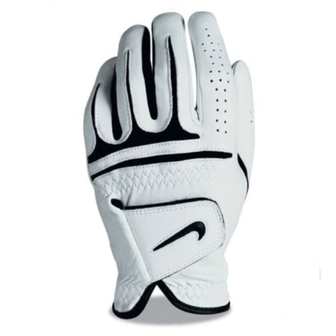 Nike Dri-Fit Tour Golf Glove - Lefthand White Size
