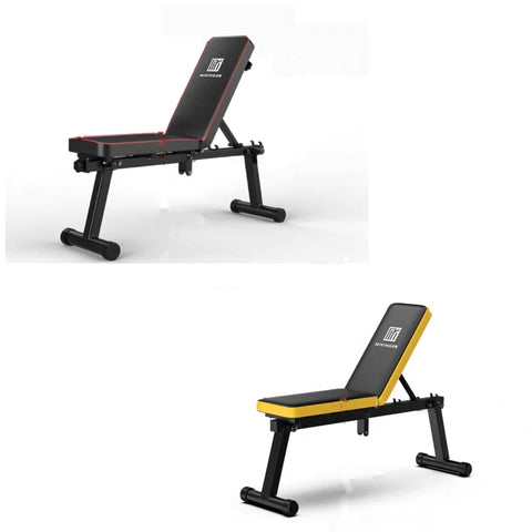 Foldable Fitness Training Weight Sit-up Full Body Workout Incline Adjustable Workout Bench