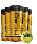 Head Tour XT Tennis Compression Balls - Sold in Cartons of 24 cans (3 balls per can)