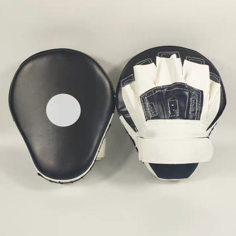 AMB Sports Black White Focus Mitt Boxing Hand Target