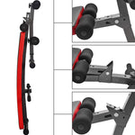 Adjustable Decline AB Sit-up Workout Foldable Gym Bench