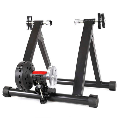 Indoor Foldable Portable Bike Magnetic Trainer Roller Stationary Cycle Trainer