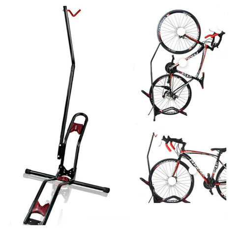 Bike Floor Rack Stand Vertical/Horizontal Position