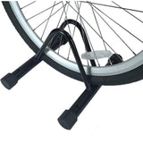 Single Slot Bike Cycling Rack for Front and Rear Wheels