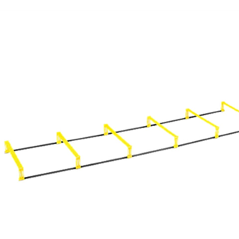 AMB Sports Pop-up Portable Foldable Hurdle ladder - 6 rungs 2.2m