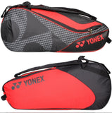 Yonex Tennis Backpack Bag with Shoe Compartment Holds 9 Racquets